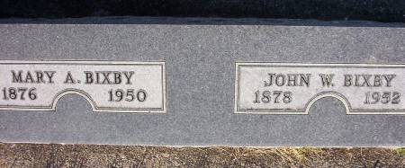 BIXBY, MARY A. - Plymouth County, Iowa | MARY A. BIXBY