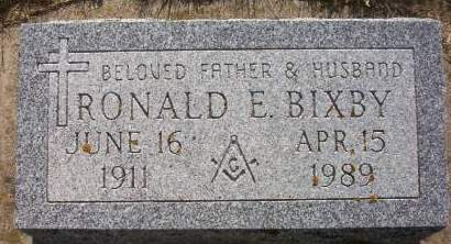 BIXBY, RONALD E. - Plymouth County, Iowa | RONALD E. BIXBY