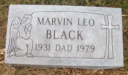 BLACK, MARVIN LEO - Plymouth County, Iowa | MARVIN LEO BLACK