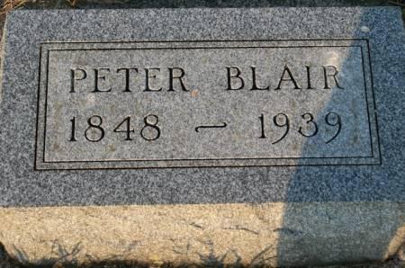 BLAIR, PETER - Plymouth County, Iowa   PETER BLAIR