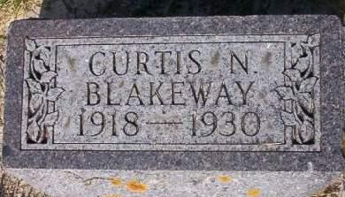 BLAKEWAY, CURTIS NORRIS - Plymouth County, Iowa | CURTIS NORRIS BLAKEWAY