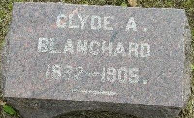 BLANCHARD, CLYDE A - Plymouth County, Iowa | CLYDE A BLANCHARD
