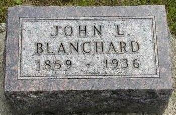 BLANCHARD, JOHN L - Plymouth County, Iowa | JOHN L BLANCHARD