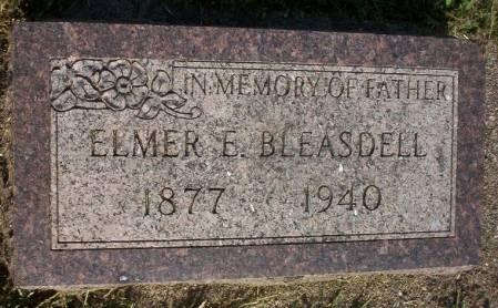 BLEASDELL, ELMER E. - Plymouth County, Iowa | ELMER E. BLEASDELL