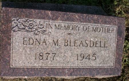 BLEASDELL, EDNA M. - Plymouth County, Iowa | EDNA M. BLEASDELL
