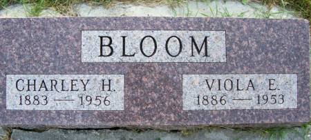 BLOOM, VIIOLA E. - Plymouth County, Iowa | VIIOLA E. BLOOM