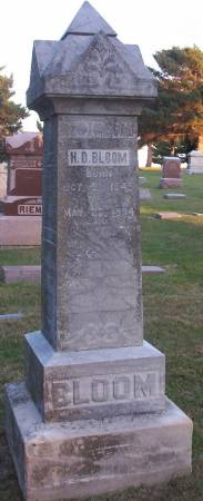 BLOOM, C.F. - Plymouth County, Iowa | C.F. BLOOM