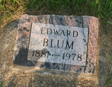 BLUM, EDWARD - Plymouth County, Iowa | EDWARD BLUM