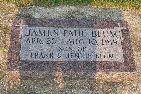 BLUM, JAMES PAUL - Plymouth County, Iowa | JAMES PAUL BLUM