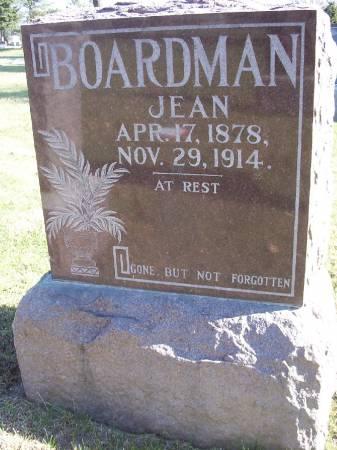 BOARDMAN, JEAN - Plymouth County, Iowa | JEAN BOARDMAN