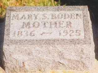 JOHNSTON BODEN, MARY S. - Plymouth County, Iowa | MARY S. JOHNSTON BODEN