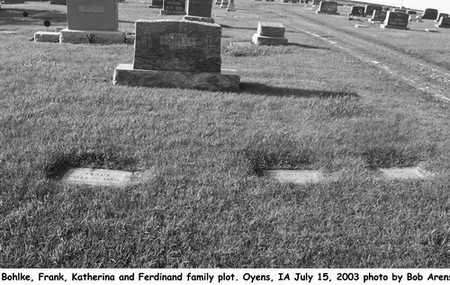 BOHLKE, FAMILY PLOT - Plymouth County, Iowa | FAMILY PLOT BOHLKE