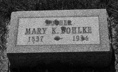 BOHLKE, MARY K. - Plymouth County, Iowa | MARY K. BOHLKE