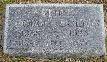 BOLTON, GEORGE - Plymouth County, Iowa | GEORGE BOLTON