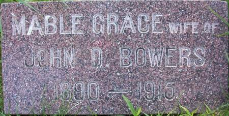 BOWERS, MABLE GRACE - Plymouth County, Iowa | MABLE GRACE BOWERS