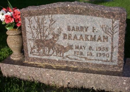 BRAAKMAN, BARRY F. - Plymouth County, Iowa   BARRY F. BRAAKMAN