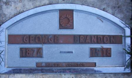 BRANDON, GEORGE L. - Plymouth County, Iowa | GEORGE L. BRANDON