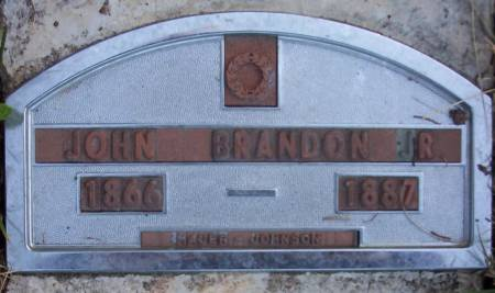 BRANDON, JOHN JR. - Plymouth County, Iowa | JOHN JR. BRANDON