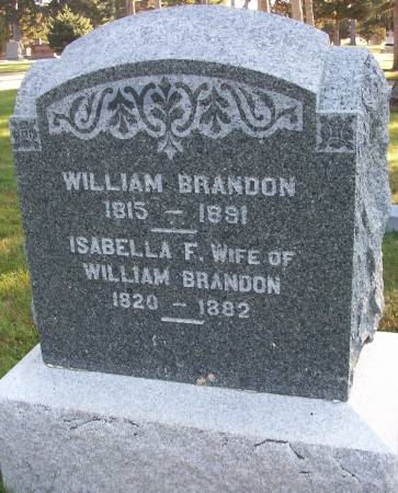 BRANDON, ISABELLA F. - Plymouth County, Iowa | ISABELLA F. BRANDON