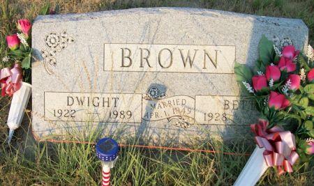BROWN, DWIGHT - Plymouth County, Iowa | DWIGHT BROWN