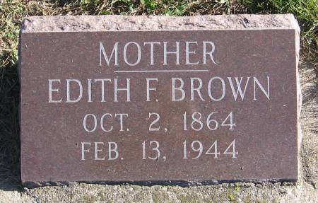 BRISTOW BROWN, EDITH FLORENCE - Plymouth County, Iowa | EDITH FLORENCE BRISTOW BROWN