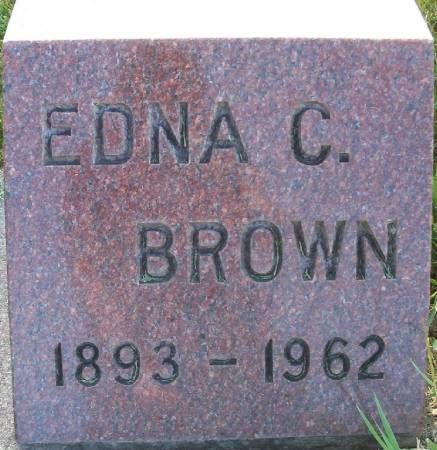 BROWN, EDNA C. - Plymouth County, Iowa | EDNA C. BROWN