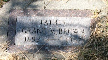 BROWN, GRANT V. - Plymouth County, Iowa | GRANT V. BROWN