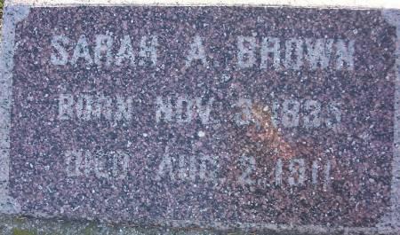 BROWN, SARAH A. - Plymouth County, Iowa | SARAH A. BROWN