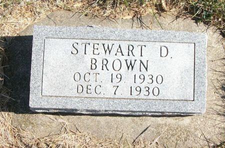 BROWN, STEWART D. - Plymouth County, Iowa | STEWART D. BROWN