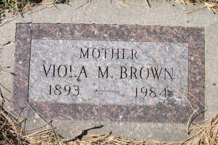 BROWN, VIOLA M. - Plymouth County, Iowa | VIOLA M. BROWN