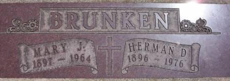BRUNKEN, MARY J. - Plymouth County, Iowa | MARY J. BRUNKEN