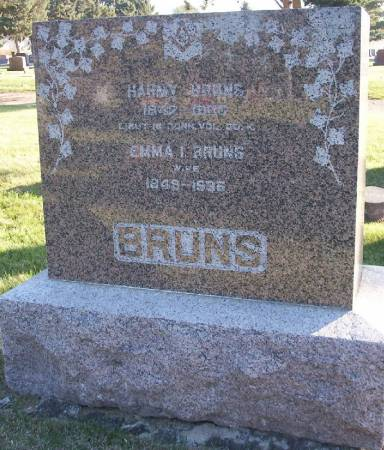 BRUNS, EMMA - Plymouth County, Iowa | EMMA BRUNS