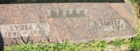 BRYAN, G. LESTER - Plymouth County, Iowa | G. LESTER BRYAN