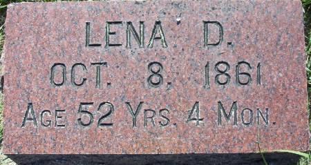 BUEHLER, LENA D. - Plymouth County, Iowa | LENA D. BUEHLER