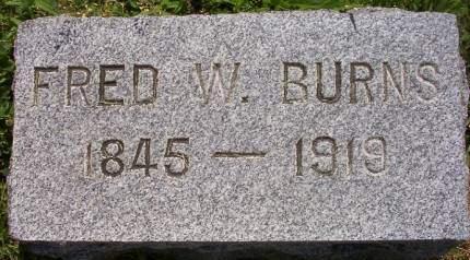 BURNS, FRED WAYLAND - Plymouth County, Iowa | FRED WAYLAND BURNS