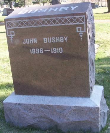 BUSHBY, JOHN - Plymouth County, Iowa | JOHN BUSHBY