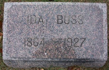 BUSS, IDA - Plymouth County, Iowa | IDA BUSS