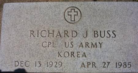 BUSS, RICHARD J. - Plymouth County, Iowa | RICHARD J. BUSS