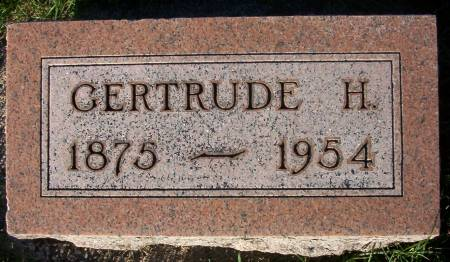 BUTLER, GERTRUDE H. - Plymouth County, Iowa | GERTRUDE H. BUTLER
