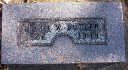 BUTLER, JOHN W. - Plymouth County, Iowa | JOHN W. BUTLER