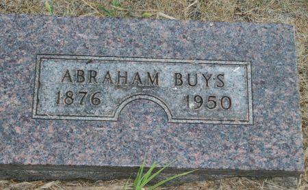 BUYS, ABRAHAM - Plymouth County, Iowa   ABRAHAM BUYS