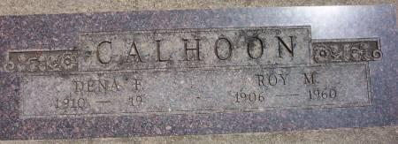 CALHOON, ROY MERLIN - Plymouth County, Iowa | ROY MERLIN CALHOON