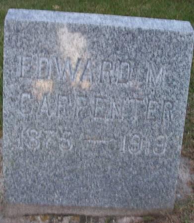 CARPENTER, EDWARD M. - Plymouth County, Iowa | EDWARD M. CARPENTER