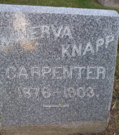 CARPENTER, MINERVA