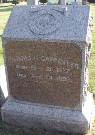 CARPENTER, THOMAS R. - Plymouth County, Iowa | THOMAS R. CARPENTER