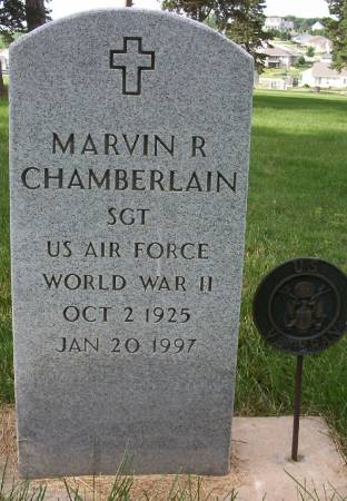 CHAMBERLAIN, MARVIN R. - Plymouth County, Iowa | MARVIN R. CHAMBERLAIN