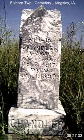 CHANDLER, PHILIP - Plymouth County, Iowa | PHILIP CHANDLER