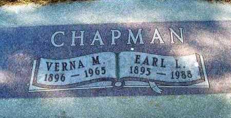 CHAPMAN, EARL LEROY - Plymouth County, Iowa | EARL LEROY CHAPMAN