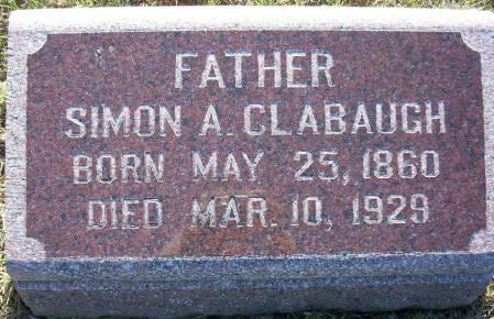 CLABAUGH, SIMON A. - Plymouth County, Iowa   SIMON A. CLABAUGH