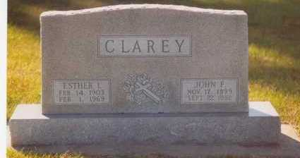 CLAREY, ESTHER IMOGENE - Plymouth County, Iowa | ESTHER IMOGENE CLAREY